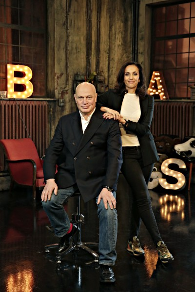 Robert Aschberg och Bathina Philipsson  / TV3