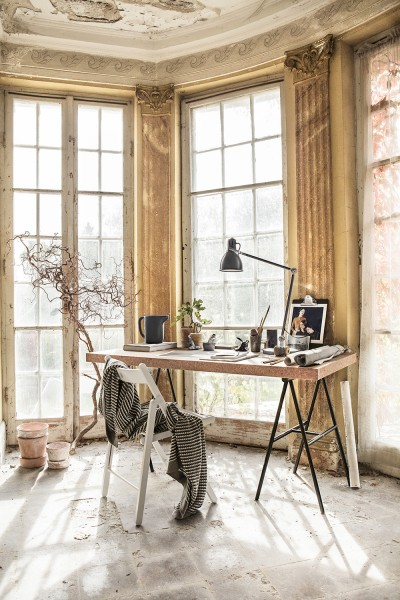 Sinnerlig arbetsplats/Ikea Livet Hemma